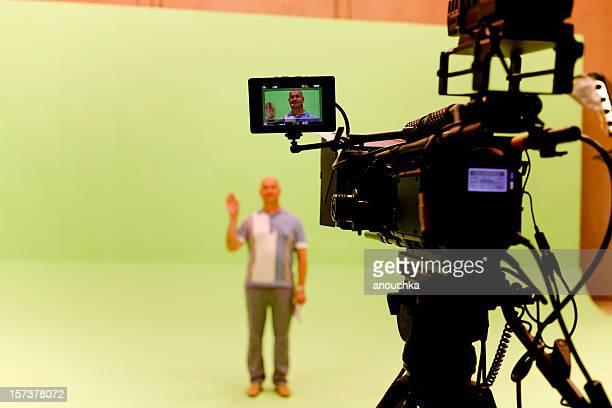 Filmación sobre chromakey