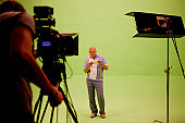 Filming on chromakey