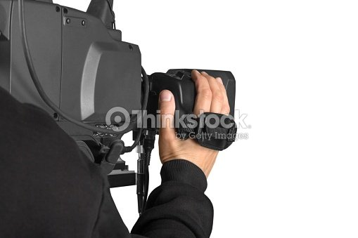 Filming. : Stock Photo