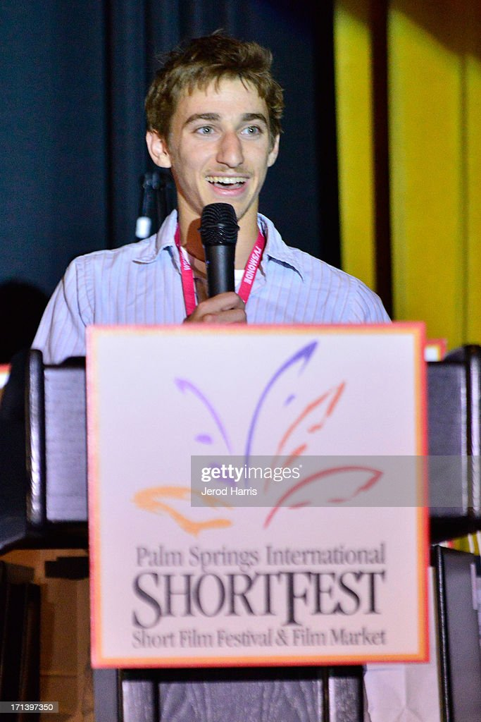 Filmmaker Abe Zverow attends the Palm Springs ShortFest closing night gala on June 23, 2013 in Palm Springs, California.