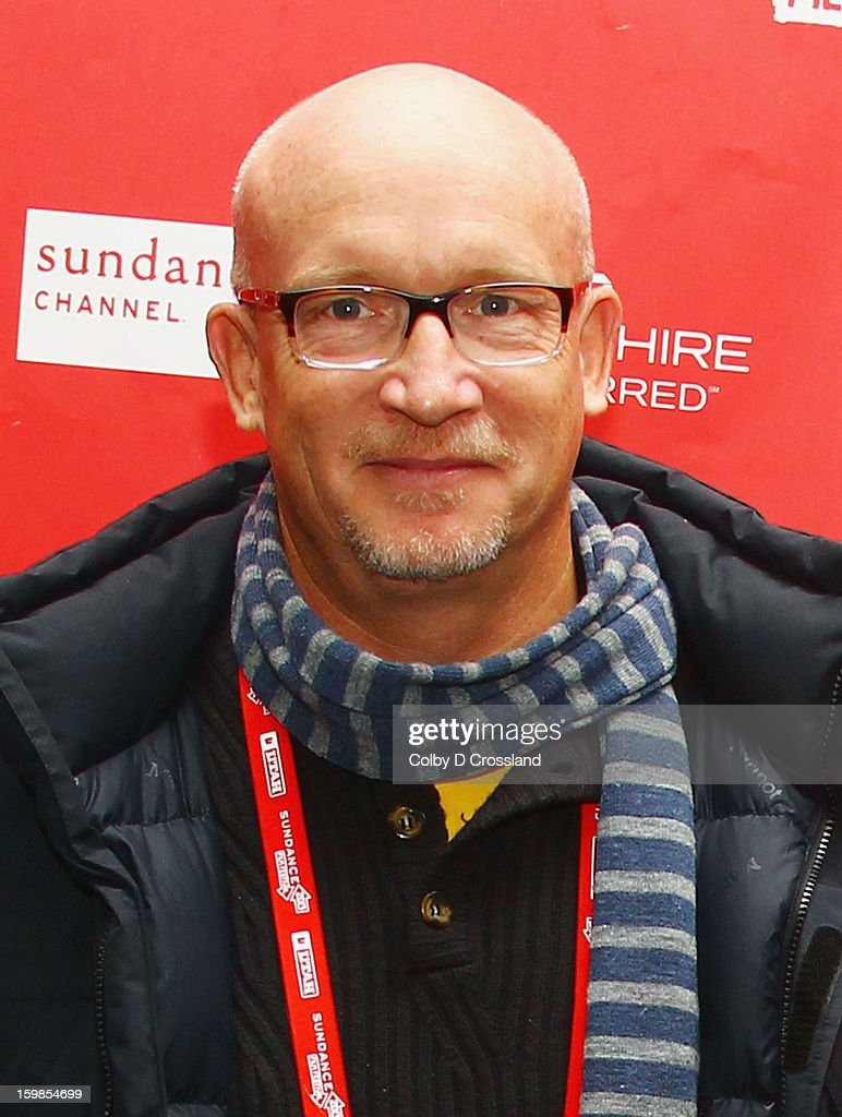 Filmmaker Alex Gibney attends the 'We Steal Secrets: The Story Of Wikileaks' premiere at The Marc Theatre during the 2013 Sundance Film Festival on January 21, 2013 in Park City, Utah.