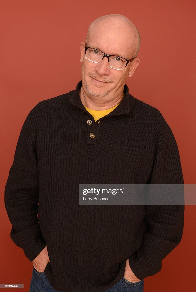 Filmmaker Alex Gibney poses for a portrait during the 2013 Sundance Film Festival at the Getty Images Portrait Studio at Village at the Lift on January 21, 2013 in Park City, Utah.
