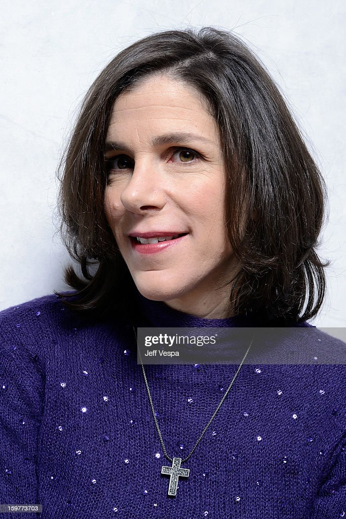 Filmmaker Alexandra Pelosi poses for a portrait during the 2013 Sundance Film Festival at the WireImage Portrait Studio at Village At The Lift on January 20, 2013 in Park City, Utah.