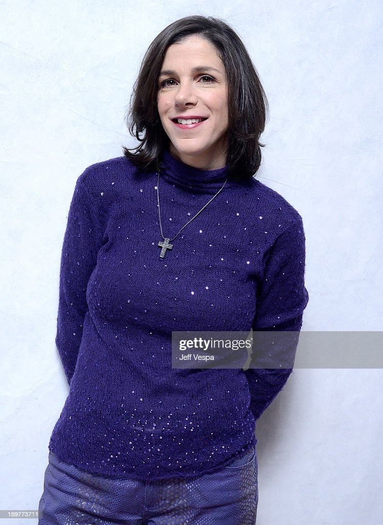 Filmmaker <a gi-track='captionPersonalityLinkClicked' href=/galleries/search?phrase=Alexandra+Pelosi&family=editorial&specificpeople=234453 ng-click='$event.stopPropagation()'>Alexandra Pelosi</a> poses for a portrait during the 2013 Sundance Film Festival at the WireImage Portrait Studio at Village At The Lift on January 20, 2013 in Park City, Utah.