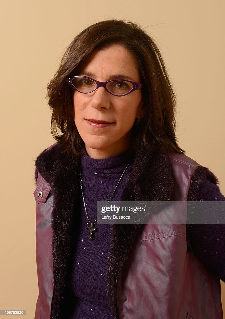 Filmmaker <a gi-track='captionPersonalityLinkClicked' href=/galleries/search?phrase=Alexandra+Pelosi&family=editorial&specificpeople=234453 ng-click='$event.stopPropagation()'>Alexandra Pelosi</a> poses for a portrait during the 2013 Sundance Film Festival at the Getty Images Portrait Studio at Village at the Lift on January 20, 2013 in Park City, Utah.