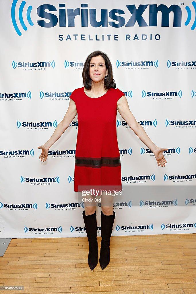 Filmmaker Alexandra Pelosi visits the SiriusXM Studios on March 28, 2013 in New York City.