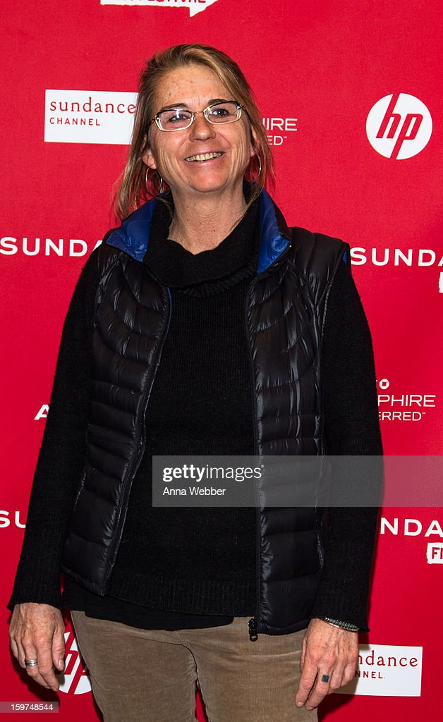 Filmmaker Alison Ellwood arrives to the 'History of the Eagles' Premiere - 2013 Park City on January 19, 2013 in Park City, Utah.