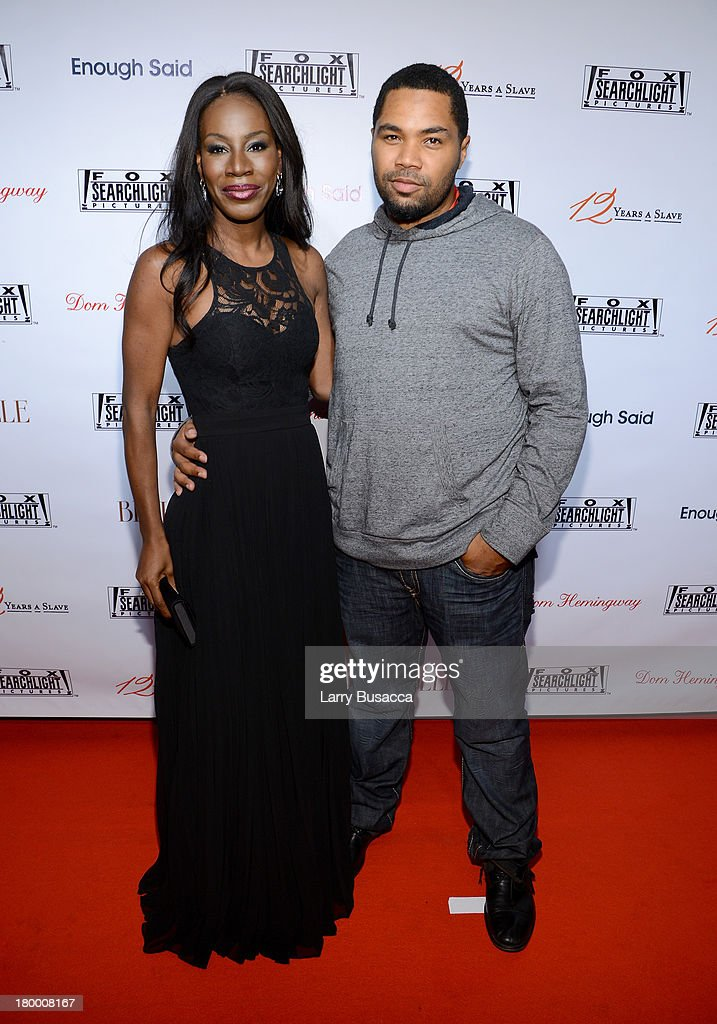 Filmmaker Amma Asante and director Tommy Oliver attends the Fox Searchlight TIFF party during the 2013 Toronto International Film Festival at Spice Route on September 7, 2013 in Toronto, Canada.