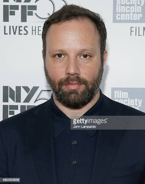 Filmmaker and director Yorgos Lanthimos attends 'Lobster' photo call during 53rd New York Film Festivalat Alice Tully Hall Lincoln Center on...