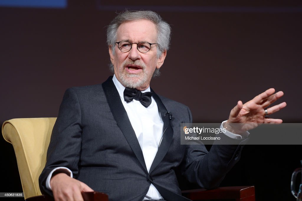 Filmmaker and honoree <a gi-track='captionPersonalityLinkClicked' href=/galleries/search?phrase=Steven+Spielberg&family=editorial&specificpeople=202022 ng-click='$event.stopPropagation()'>Steven Spielberg</a> speaks onstage at the Foundation for the National Archives 2013 Records of Achievement award ceremony and gala in honor of <a gi-track='captionPersonalityLinkClicked' href=/galleries/search?phrase=Steven+Spielberg&family=editorial&specificpeople=202022 ng-click='$event.stopPropagation()'>Steven Spielberg</a> on November 19, 2013 in Washington, D.C.