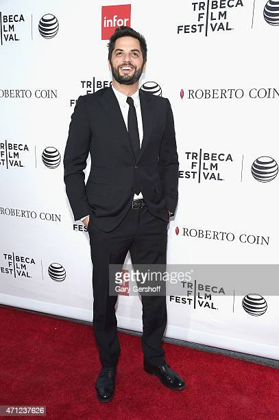 Filmmaker and TV host Diego Buñuel attends the closing night screening of 'Goodfellas' during the 2015 Tribeca Film Festival at Beacon Theatre on...