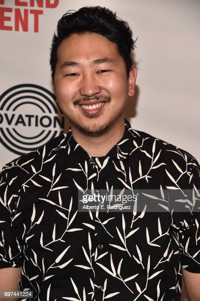 Filmmaker Andrew Ahn attends Coffee Talks at the 2017 Los Angeles Film Festival at the Kirk Douglas Theatre on June 18 2017 in Culver City California