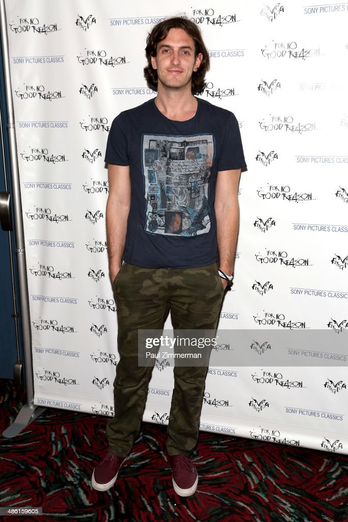 Filmmaker Andrew Jenks attends the 'For No Good Reason' screening at AMC Loews 19th Street Theater on April 22, 2014 in New York City.