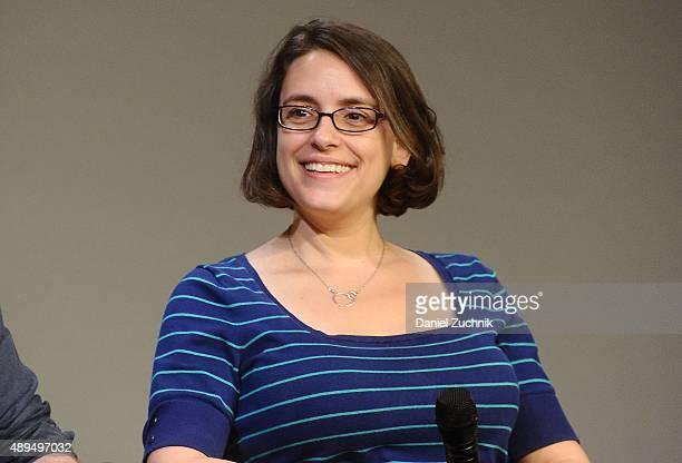 Filmmaker Anna Boden discusses her new film 'Mississippi Grind' at Apple Store Soho on September 21 2015 in New York City