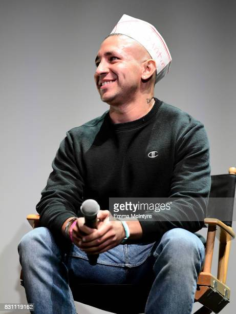 Filmmaker Antonio Santini speaks onstage at 2017 Sundance NEXT FEST at The Theater at The Ace Hotel on August 13 2017 in Los Angeles California