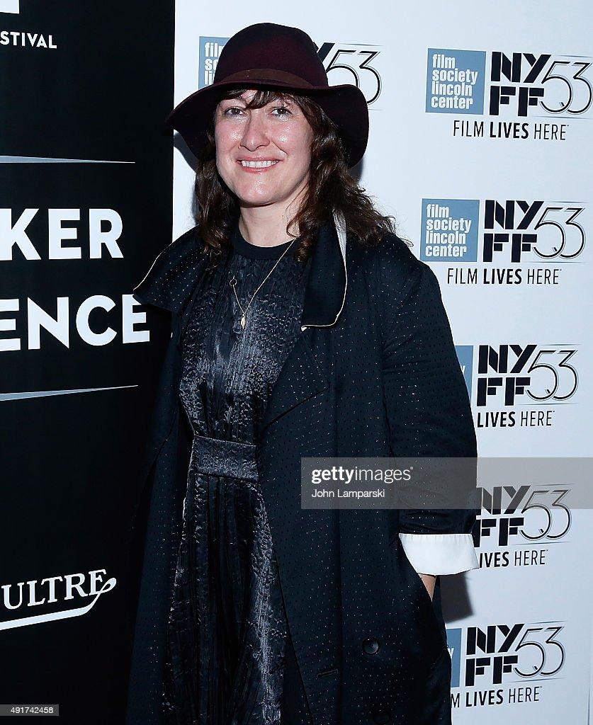 Filmmaker Athina Rachel Tsangari attends a screening of 'Chevalier' during the 53rd New York Film Festival at Elinor Bunin Munroe Film Center on October 7, 2015 in New York City.