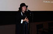 Filmmaker Athina Rachel Tsangari attends a screening of 'Chevalier' during the 53rd New York Film Festival at Elinor Bunin Munroe Film Center on...