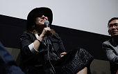 Filmmaker Athina Rachel Tsangari attends 'Chevalier' QA during 53rd New York Film Festival at Elinor Bunin Munroe Film Center on October 7 2015 in...