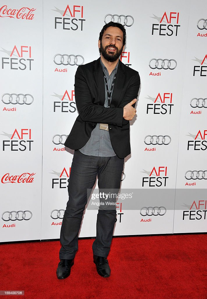 Filmmaker Augusto Canani arrives at the 'Life Of Pi' premiere during AFI Fest 2012 presented by Audi at Grauman's Chinese Theatre on November 2, 2012 in Hollywood, California.
