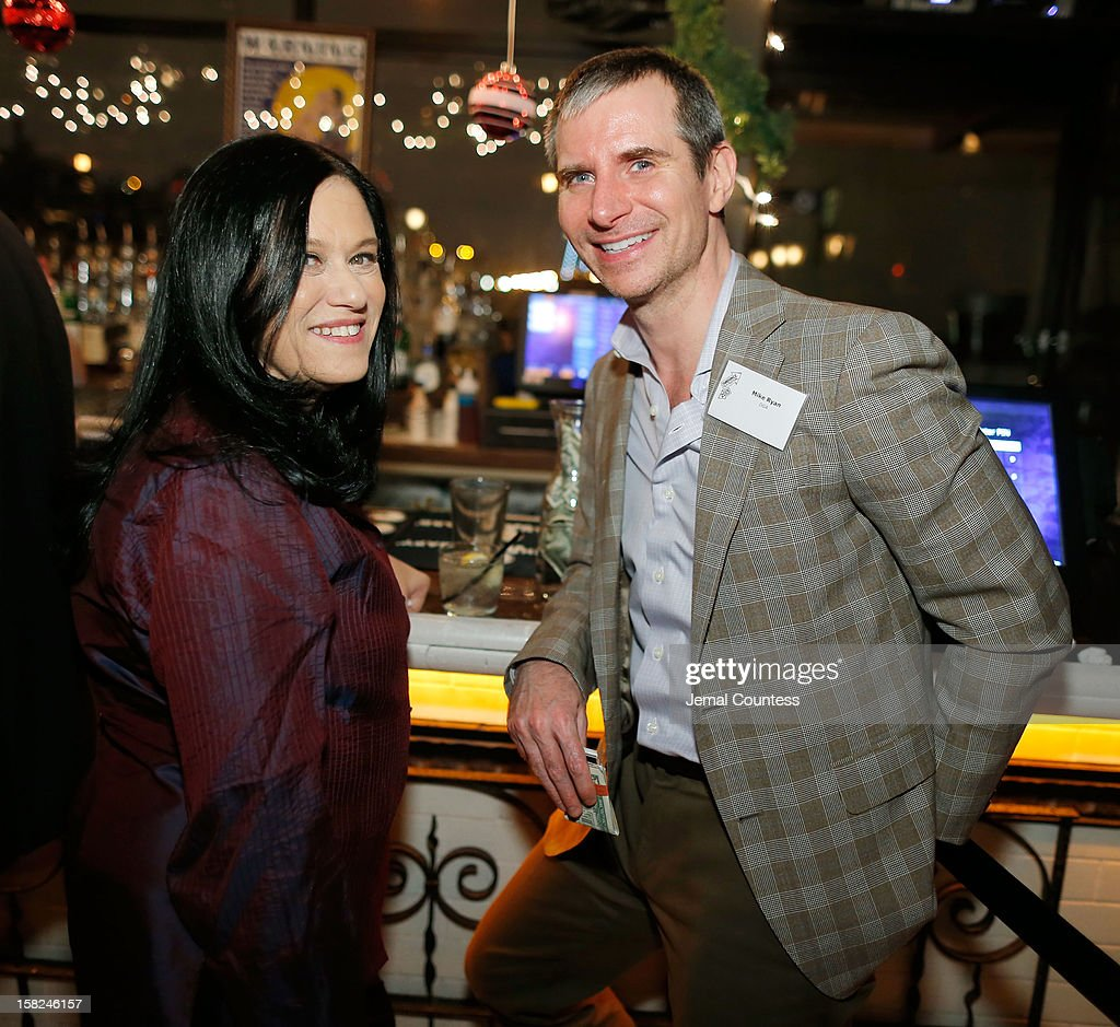 Filmmaker Barbara Kopple and Mike Ryan of the Director Guild of America attend the 2012 Sundance Film Festival Filmmaker Orientation at Hotel Chantelle on December 11, 2012 in New York City.
