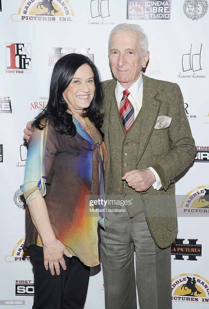 Filmmaker Barbara Kopple and writer <a gi-track='captionPersonalityLinkClicked' href=/galleries/search?phrase=Gay+Talese&family=editorial&specificpeople=224015 ng-click='$event.stopPropagation()'>Gay Talese</a> attend the opening night party for the 2013 First Time Fest at The Players Club on March 1, 2013 in New York City.