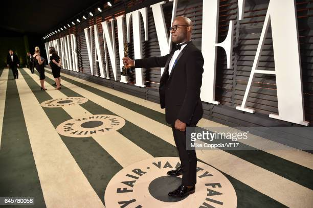 Filmmaker Barry Jenkins attends the 2017 Vanity Fair Oscar Party hosted by Graydon Carter at Wallis Annenberg Center for the Performing Arts on...