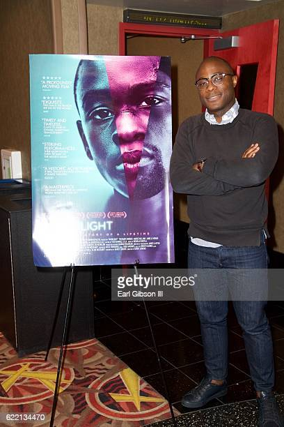 Filmmaker Barry Jenkins attends the ICON MANN Host Special Screening and QA of 'Moonlight' at AMC Century City 15 theater on November 9 2016 in...