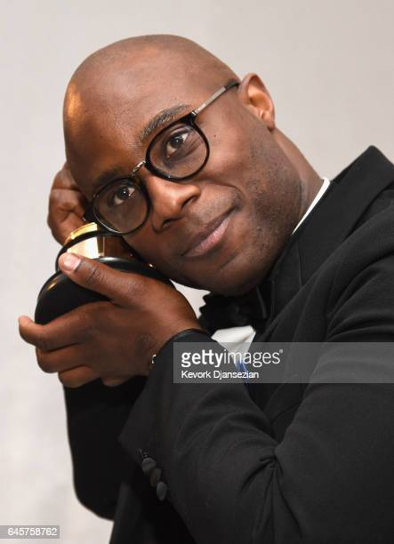 Filmmaker Barry Jenkins winner of the award for Adapted Screenplay for 'Moonlight' attend the 89th Annual Academy Awards Governors Ball at Hollywood...