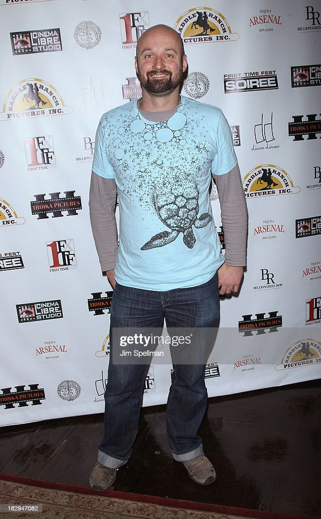Filmmaker Benj Binks attends the opening night party for the 2013 First Time Fest at The Players Club on March 1, 2013 in New York City.