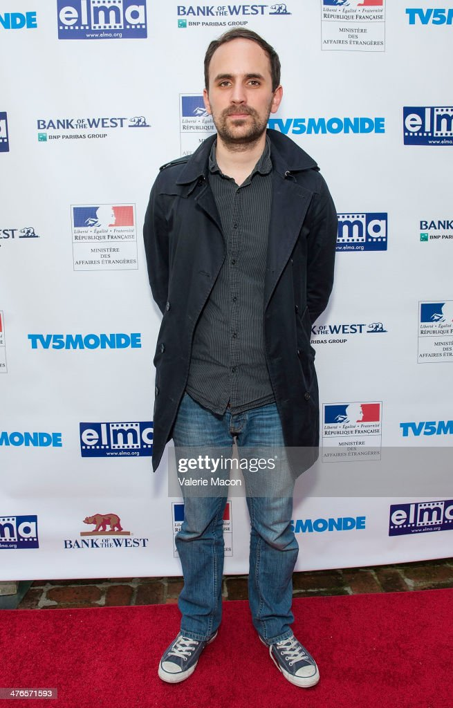 Filmmaker Benjamin Renner attends The Consul General Of France, Mr. Axel Cruau, Honors The French Nominees For The 86th Annual Academy Awards party on March 3, 2014 in Beverly Hills, California.