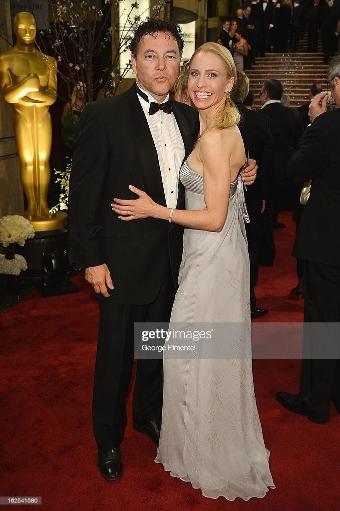 Filmmaker Bo Zenga (L) and Zorianna Kit arrive at the Oscars at Hollywood & Highland Center on February 24, 2013 in Hollywood, California.