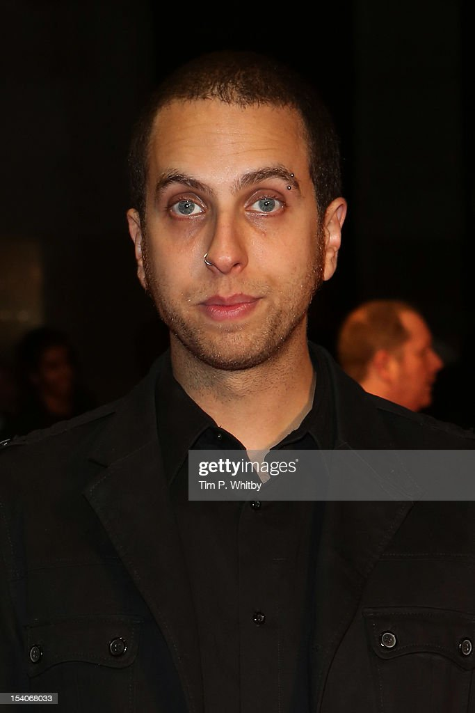 Filmmaker Brandon Cronenberg attends the premiere of 'Antiviral' during the 56th BFI London Film Festival at Odeon West End on October 13, 2012 in London, England.