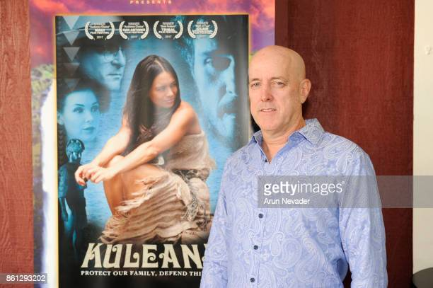 Filmmaker Brian Kohne appears for the screening of his film Kuleana at the Santa Cruz Film Festival at Tannery Arts Center on October 13 2017 in...