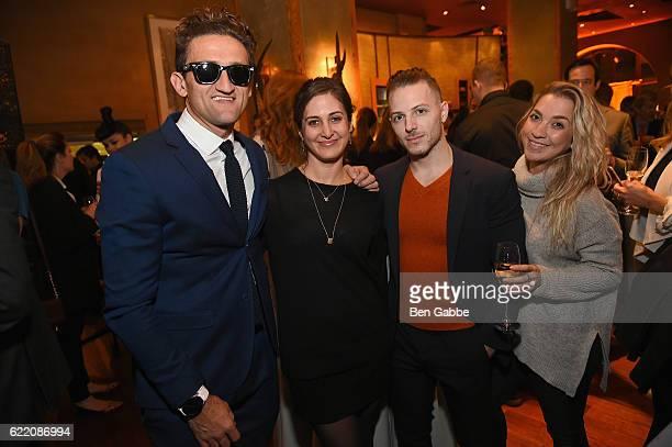 Filmmaker Casey Neistat attends Nobu Hotel Miami Beach launch VIP cocktail at Nobu Next Door on November 7 2016 in New York City