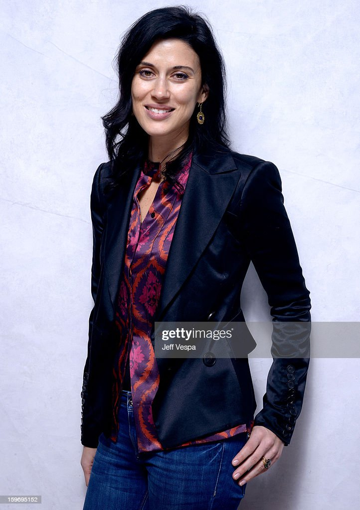 Filmmaker Cherien Dabis poses for a portrait during the 2013 Sundance Film Festival at the WireImage Portrait Studio at Village At The Lift on January 18, 2013 in Park City, Utah.