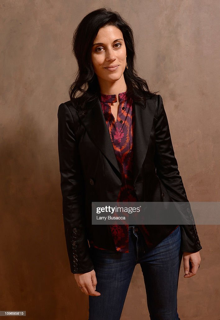 Filmmaker Cherien Dabis poses for a portrait during the 2013 Sundance Film Festival at the Getty Images Portrait Studio at Village at the Lift on January 18, 2013 in Park City, Utah.