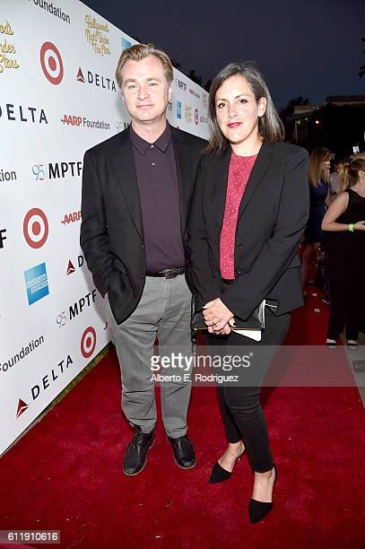 Filmmaker Christopher Nolan and Producer Emma Thomas attend the MPTF 95th anniversary celebration with 'Hollywood's Night Under The Stars' at MPTF...