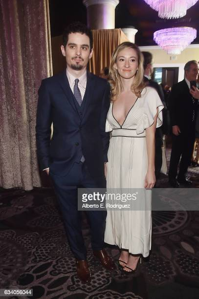 Filmmaker Damien Chazelle and Olivia Hamilton attend the 89th Annual Academy Awards Nominee Luncheon at The Beverly Hilton Hotel on February 6 2017...