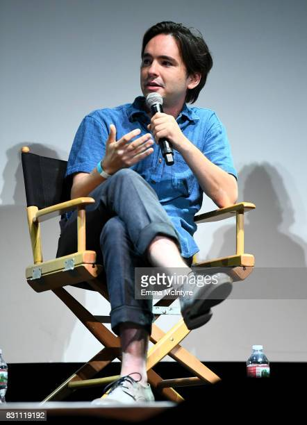 Filmmaker Dan Sickles speaks onstage at 2017 Sundance NEXT FEST at The Theater at The Ace Hotel on August 13 2017 in Los Angeles California