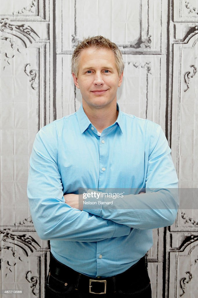 Filmmaker Daniel Junge discusses his documentary 'A LEGO Brickumentary' during the AOL Build series at AOL Studios In New York on July 28, 2015 in New York City.