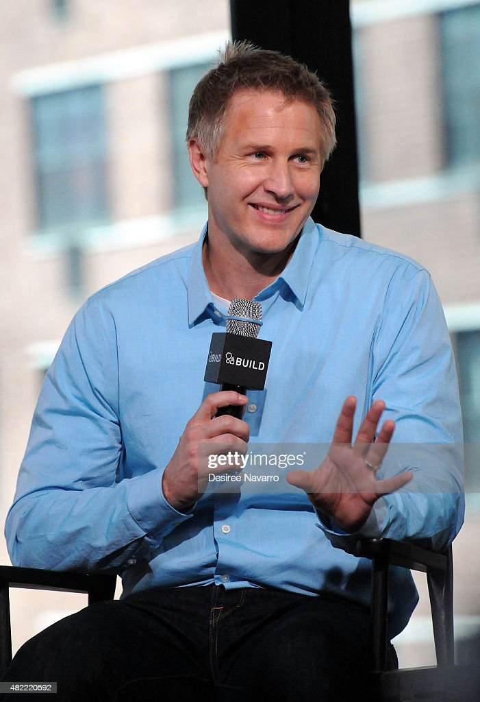 Filmmaker Daniel Junge speaks during AOL Build Presents: 'A LEGO Brickumentary' at AOL Studios In New York on July 28, 2015 in New York City.