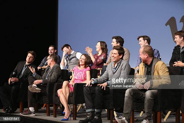 Filmmaker Daniel Kaminsky actors Joshua Zar Emma Bates Nick Kocher Brian McElhaney Actors Nathan Fillion Clark Gregg Amy Acker Alexis Denisof...