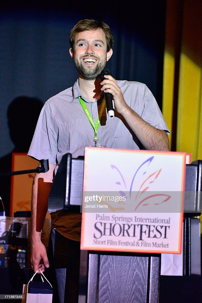Filmmaker Daniel Leigh attends the Palm Springs ShortFest closing night gala on June 23, 2013 in Palm Springs, California.