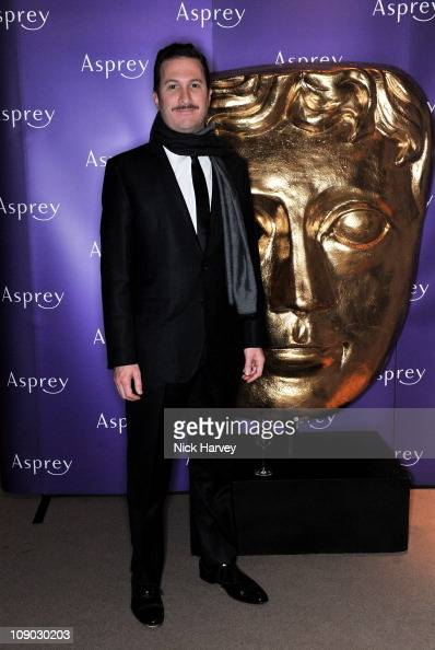 Filmmaker Darren Aronofsky attends The British Academy Film Awards nominees party at Asprey on February 12 2011 in London England
