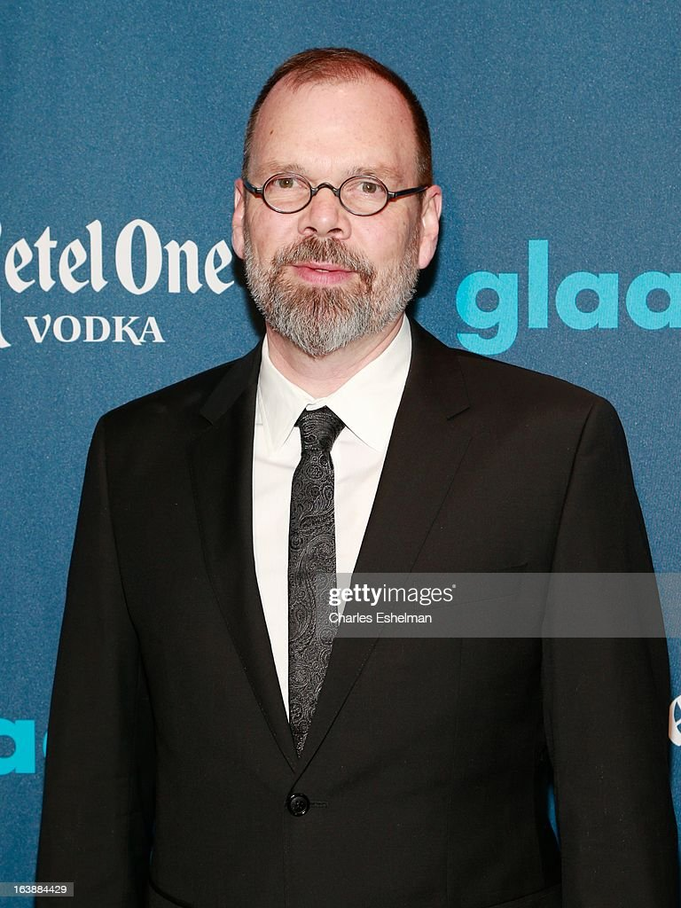 Filmmaker <a gi-track='captionPersonalityLinkClicked' href=/galleries/search?phrase=David+France&family=editorial&specificpeople=2455780 ng-click='$event.stopPropagation()'>David France</a> attends the 24th annual GLAAD Media awards at The New York Marriott Marquis on March 16, 2013 in New York City.
