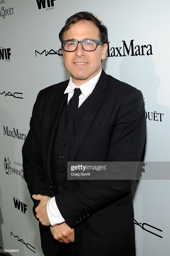 Filmmaker <a gi-track='captionPersonalityLinkClicked' href=/galleries/search?phrase=David+O.+Russell&family=editorial&specificpeople=215306 ng-click='$event.stopPropagation()'>David O. Russell</a> attends the 6th Annual Women In Film Pre-Oscar Party hosted by Perrier Jouet, MAC Cosmetics and MaxMara at Fig & Olive on February 22, 2013 in Los Angeles, California.