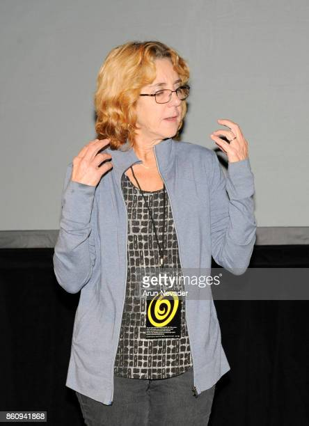 Filmmaker Denise Gallant takes questions during Q and A for her film LegacyTom Scribner and the Santa Cruz Saw Festival screened at the Santa Cruz...