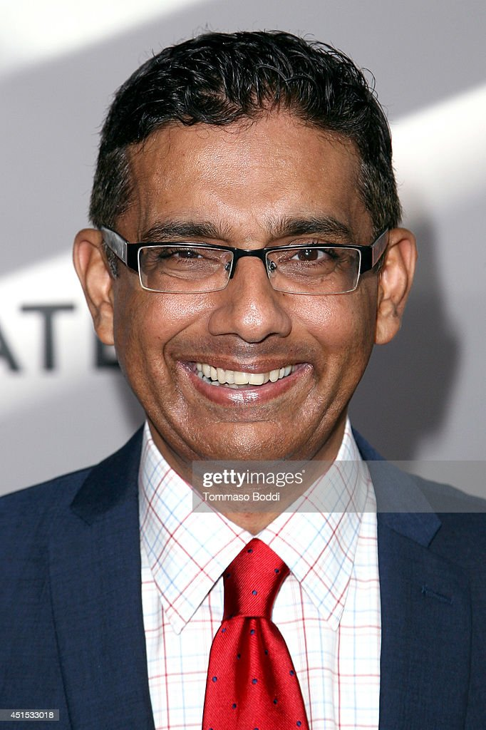 Filmmaker Dinesh D'Souza attends the 'America' Los Angeles premiere held at the Regal Cinemas L.A. Live on June 30, 2014 in Los Angeles, California.