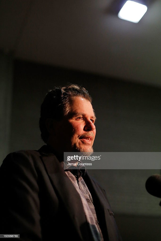 Filmmaker Don Coscarelli is interviewed as he attends the 'John Dies At The End' Premiere during the 2012 Toronto International Film Festival held at Ryerson Theatre on September 15, 2012 in Toronto, Canada.