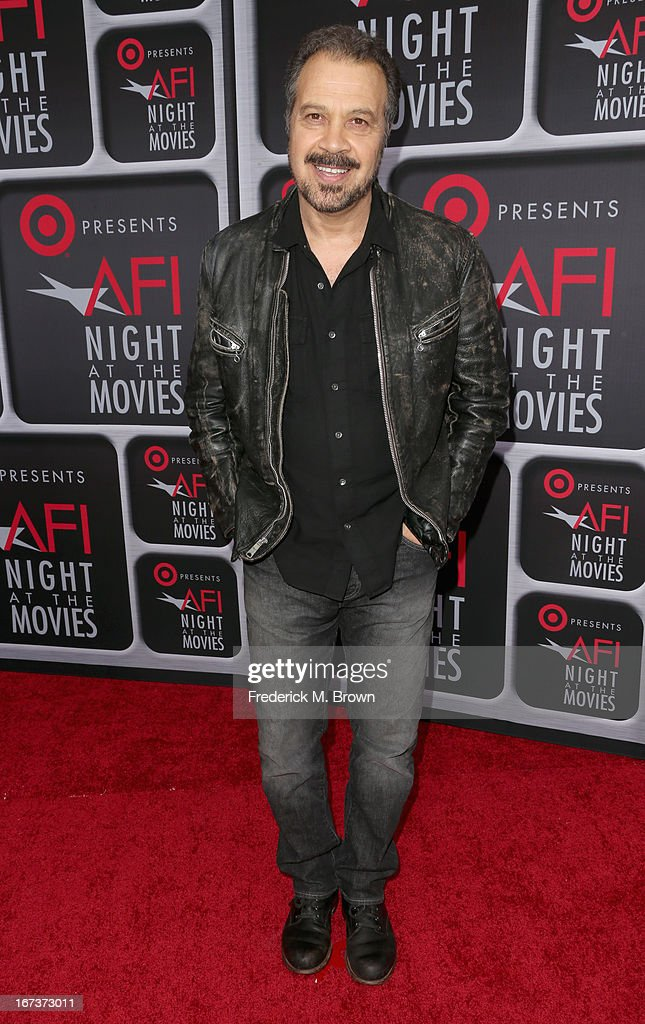 Filmmaker <a gi-track='captionPersonalityLinkClicked' href=/galleries/search?phrase=Edward+Zwick&family=editorial&specificpeople=215060 ng-click='$event.stopPropagation()'>Edward Zwick</a> arrives on the red carpet for Target Presents AFI's Night at the Movies at ArcLight Cinemas on April 24, 2013 in Hollywood, California.